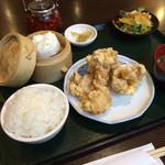 菜館Wong - 唐揚げセット