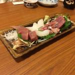 やぶ寿司 - 料理写真:刺身盛合せ2人前