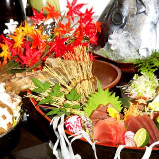豪華お料理コースは3000円~飲み放題もご用意♪