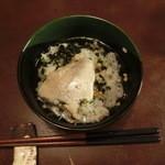 山年園 - 「鯛飯膳」(お茶漬け・炊き込みご飯)