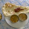 サクラ - 料理写真:ランチのBセット(カレーは豆とチキンを選択)