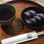 赤福 - 赤福 盆(3個入290円)