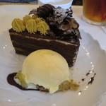 れんげそう - チョコバナナケーキ 390円