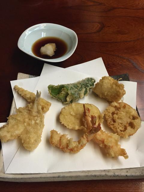 天ぷら いせ - 上天婦羅定食