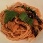 LOTTA - ナスとバジルのトマトソースのスパゲッティーニ