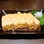 鶏亀 - こだわり玉子の玉子焼き(519円)