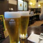バル・イスパニヤ - H27.6月 ビールでかんぱーい!