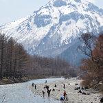 3937865 - 河童橋から見た焼岳