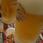39371047 - 生ビールで乾杯。^q^