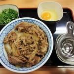 39371257 - 牛ネギ 玉丼 特盛 780円(税込)です。