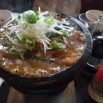 喰龍 - 豚バラ肉のあんかけ石焼チャーハン