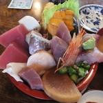 菊寿司 - 少々魚がイマイチに感じた。日によって変わりそうだ