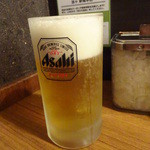 油ゃ - 生ビール