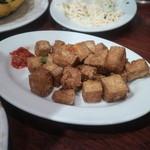上海小吃 - 塩こしょう豆腐