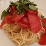 39375304 - ランチpranzoC パスタ:冷製フルーツトマトのフェデリーニ