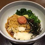 七福 弁天庵 - 梅おろし蕎麦 + 100円で 新蕎麦に