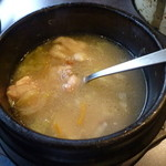 焼肉太郎 - サムゲタン風鍋