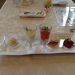 フラワリッシュ - デザート 5品を選べる
