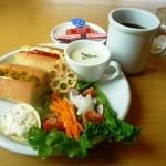 CafeDazy - Komachiモーニングセット