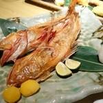 さかなや - 2015年1月 特大キンキ姿塩焼【1500円】