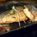 五島列島天然魚と日本酒 郷味 - 「さばの塩焼き(お魚定食)」