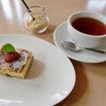 メルキュール カフェ - cake set