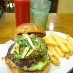 アームズ ピクニック - バーガーとポテトで1,231円。