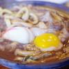 煮込みうどん かに屋 - 料理写真:味噌煮込みうどん、かしわ