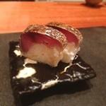 39381689 - 名物鯖の棒寿司