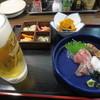 村尾・大衆酒場 - 料理写真:生ビールと鳥取うまいもんセット