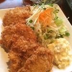 あきん - ホッキ貝のフライ‼️ フライははじめて食べましたが美味いです(^_^)