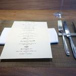 KINOE - テーブルセッティング