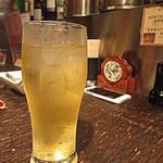 アジアン・ニューヨーク - Lunch Set Menuの蓮のお茶