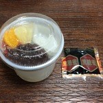 菓匠 芭蕉堂 - あんみつ 350円