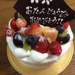 パティスリー マナ - 誕生日ケーキ
