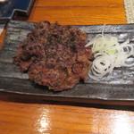 松吟庵 - 牛タン味噌