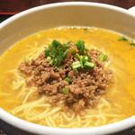 中国名菜 錦 - 担々麺(お漬物・豆腐・デザート付) 800円
