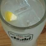 英洋軒 - チューハイレモン ¥290