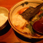 かげおか - 醤油えびすラーメン¥1200(税込)ライス普通盛り¥180
