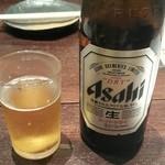 居酒屋 楽歳 - ビンビール