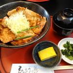 39389030 - 豚丼ロース 四元豚 800円
