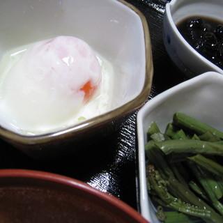 阿部旅館 - 料理写真:温泉卵
