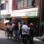 中華そば ムタヒロ - 店・外観の一例・待ち列 (2015年06月)