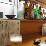 寿楽 - 土曜夜に予約 5時から開いてます カウンターに 3500円コース
