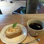 リマカフェ -  2015.6 紅茶の甘夏カスタードロール & 有機コーヒー