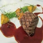 リュド コマンセ ナチュール - 牛フィレ肉のグリル(追加 +\1,000)