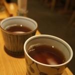 京ノ茶寮 伊右衛門 - ほうじ茶にほっと癒されました♪