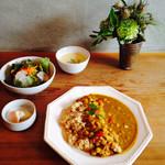 シヴァ カフェ - 玄米薬膳カレープレート