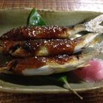39394227 - 稚鮎の味噌焼き