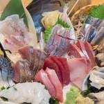 魚金 - 刺身六点盛りスペシャル【2015年6月】
